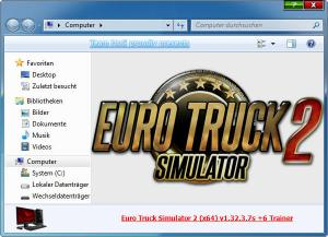 Euro Truck Simulator 2 Trainer for PC game version v1.32.3.7s 64bit