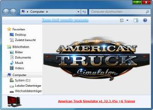 American Truck Simulator Trainer for PC game version v1.32.3.45s