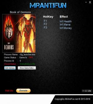 Book of Demons Trainer +3 v0.98.17491 {MrAntiFun}