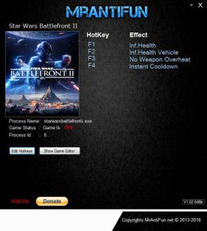 Star Wars: Battlefront 2 2017 Trainer +4 v09.12.2018 {MrAntiFun}