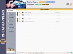 Thief of Thieves: Season One Trainer for PC game version v1.3.1