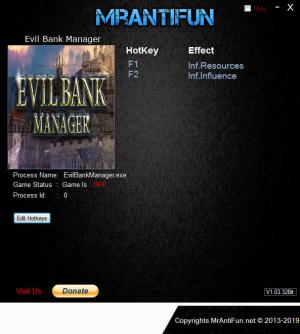 Evil Bank Manager Trainer +2 v11.02.2019 {MrAntiFun}