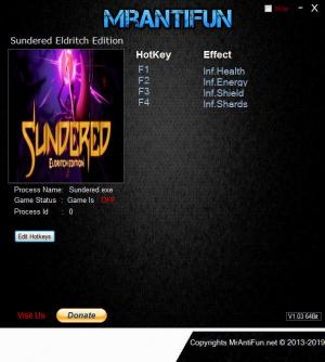 Sundered Trainer +4 v11.03.2019 {MrAntiFun}