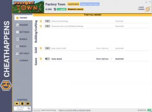 Factory Town Trainer +4 v0.090 (Cheat Happens)