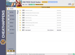 ONE PIECE World Seeker Trainer +11 v1.0.1 (Cheat Happens)