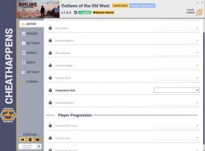 Outlaws of the Old West Trainer +11 v1.0.2 (Cheat Happens)