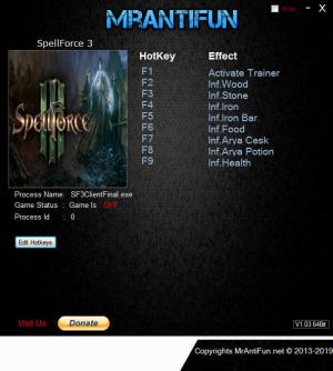 SpellForce 3 Trainer +8 v1.40 {MrAntiFun}