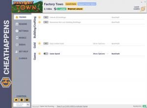 Factory Town Trainer for PC game version v0.108m