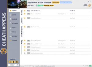 SpellForce 3: Soul Harvest Trainer +17 Rev 70711 (Cheat Happens)