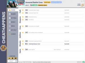 Armored Battle Crew Trainer for PC game version v0.2.1