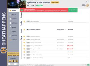 SpellForce 3: Soul Harvest Trainer +17 Rev 71554 (Cheat Happens)