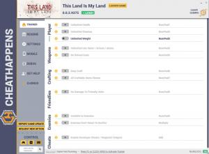 This Land is My Land Trainer +11 v0.0.2.9375 (Cheat Happens)