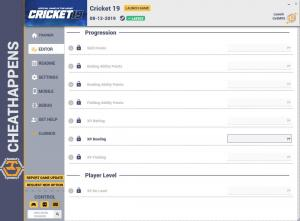 Cricket 19 Trainer for PC game version v1.0