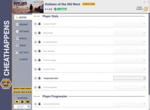 Outlaws of the Old West Trainer for PC game version v1.2.6