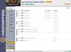 Age of Empires: Definitive Edition Trainer +11 Build 28218 (Cheat Happens)