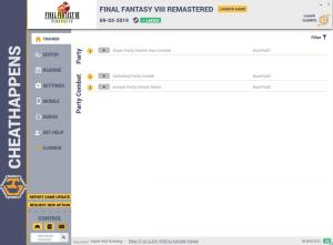 FINAL FANTASY VIII Remastered Trainer +15 v1.0 (Cheat Happens)