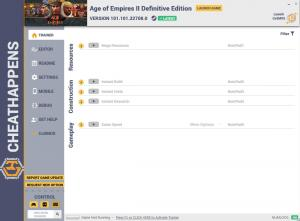 Age of Empires II: Definitive Edition Trainer +12 v101.101.32708.0 (Cheat Happens)