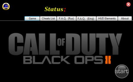 Call of Duty: Black Ops 2 Trainer +20 v1.0 {GradenT}