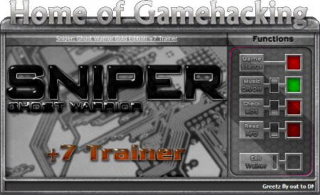 Sniper: Ghost Warrior - Gold Edition Trainer +7 v1.0 {HoG}
