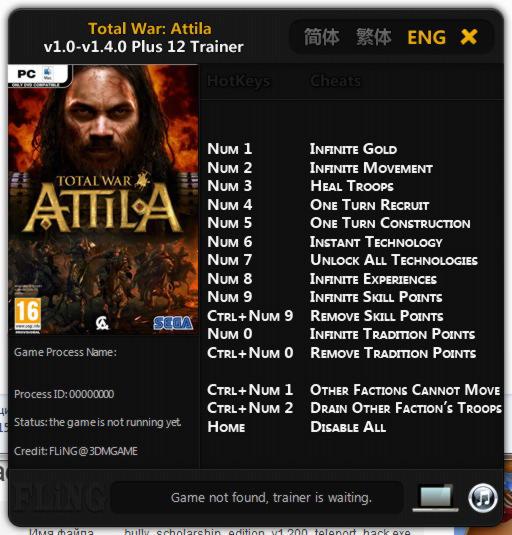 Attila Trainer