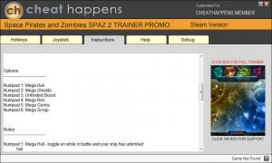 Space Pirates and Zombies 2 Trainer + v0.8.4 (Cheat Happens)