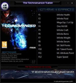 The Technomancer Trainer +12 Update 30.06.2016 {FutureX}