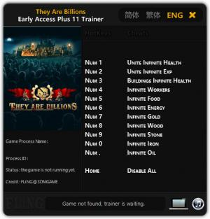 They Are Billions Trainer +11 Early Access {FLiNG}