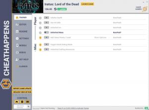 Iratus: Lord of the Dead Trainer for PC game version v156.05