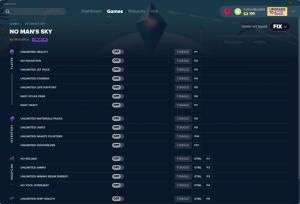No Man's Sky Trainer for PC game version v17.08.2019