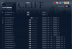 Cliff Empire Trainer for PC game version v27.08.2019