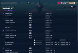 No Man's Sky Trainer for PC game version v02.09.2019