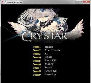 Crystar Trainer for PC game version v1.0