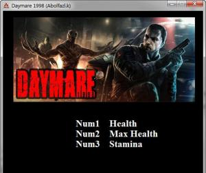 Daymare: 1998 Trainer for PC game version v1.0