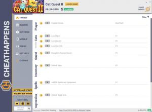 Cat Quest II Trainer for PC game version v1.0