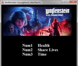 Wolfenstein: Youngblood Trainer for PC game version v1.0.3