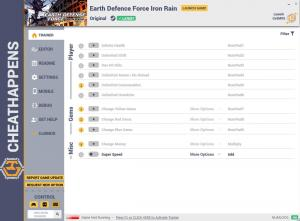 EARTH DEFENSE FORCE: IRON RAIN Trainer for PC game version  v1.0