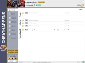 Pagan Online Trainer for PC game version v1.0.4.53277