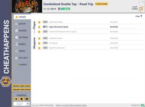 Zombieland: Double Tap - Road Trip Trainer for PC game version v1.0
