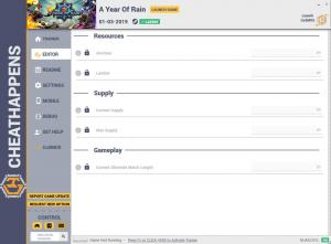 A Year Of Rain Trainer for PC game version v1.0