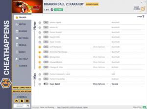 Dragon Ball Z: Kakarot Trainer +21 v1.03  (Cheat Happens)