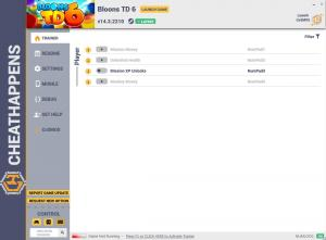 Bloons TD6 Trainer for PC game version v14.3.2210