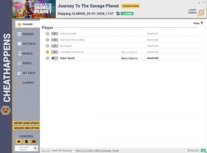 Journey to the Savage Planet Trainer for PC game version Shipping_CL48505_23-01-2020_1157