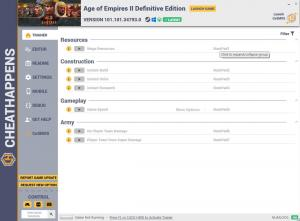 Age of Empires II: Definitive Edition Trainer for PC game version v101.101.34793.0