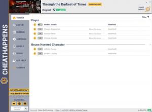 Through the Darkest of Times Trainer for PC game version v1.0