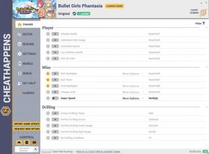 Bullet Girls Phantasia Trainer for PC game version v1.0