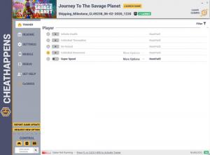 Journey to the Savage Planet Trainer for PC game version Shipping_Milestone_CL49238_06-02-2020_1220