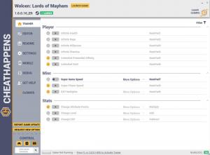 Wolcen: Lords of Mayhem Trainer for PC game version v1.0.0.10_ER