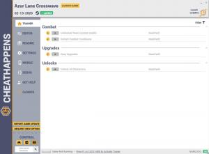 Azur Lane: Crosswave Trainer for PC game version v1.0