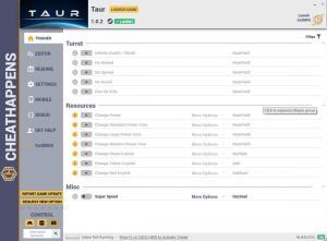 Taur Trainer for PC game version v1.0.2