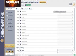 Wasteland Remastered Trainer for PC game version v1.00